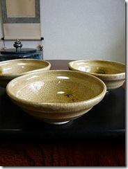 三峰園黄瀬戸子鉢