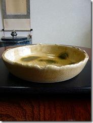 三峰園黄瀬戸中鉢